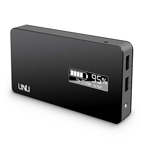 UNU Ultrapak Tour 10000mAh USB External Battery Pack 8X Fast Charging Backup Power Charger [Black] - Portable Battery Charger compatible to iPhone 6, iPhone 6 Plus, iPhone 5s / 5 / 4S /4, Samsung Galaxy Note 4 / 3 / 2, Samsung Galaxy S6 / S5 / S4 / S3 / Tab 4 3 2 7.0 8.0 10.1 / S 8.4 10.5, LG Optimus G3 / G2 / G Flex / G Pro 2, HTC One M8 Eye / M7 /M4 /Mini 2, Nexus 5/4/7/8, iPad Air 4/3/2, iPad Mini 3 2 Retina, iPod Touch, G Pad, Sony/Other Smartphone[a.k.a Extended Juice Bank Car Case Cable]  available at amazon for Rs.4564