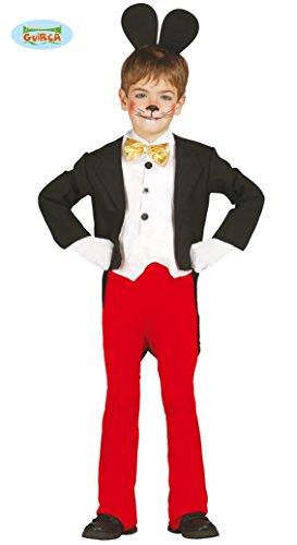 berühmte Maus - Kostüm für Kinder Gr. 98 - 134, (Mickey Maus Kostüm Für Jungen)