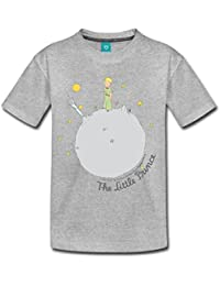 Spreadshirt Little Prince Asteroid B612 Illustration Kids' Premium T-Shirt