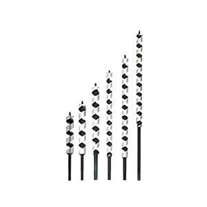 1015E Meche a bois a spire unique hexagonale - D. 17 mm - L. 450 mm