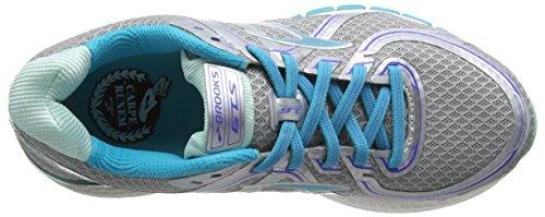 Brooks Adrenaline Gts 16-120203 1d 170, Chaussures de Trail Femme Argent (Silver/Bluebird/Bluetint 170)