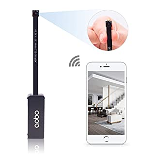 aobo 640P Mini Spy Camera Wireless WIFI Security Covert Camera Motion Detection Home Nanny Cam for iPhone/Android Phone/iPad