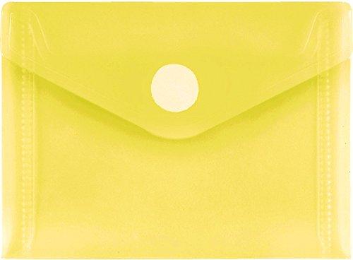 PP-Umschlag A7quer, gelb klar, 10 Stück Stück