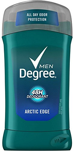 Degree Men Fresh Deodorant with Time Released Molecules, Arctic Edge 3 oz (85 g) by Degree