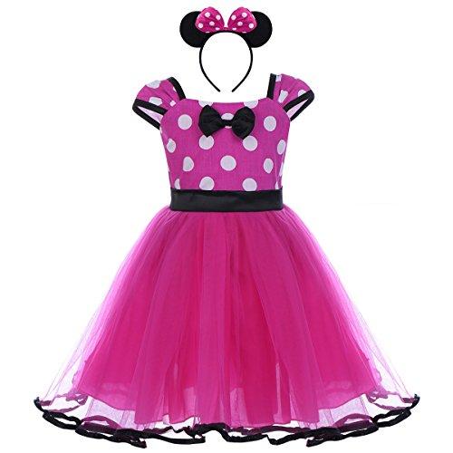 Bebé Niña Vestido de Fiesta Princesa Disfraces Tutú Ballet Lunares Fantasía  Vestid Carnaval Bautizo Cumpleaños Baile ce2d4d549896
