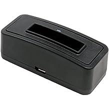 Estación de carga de batería 1301 para HP Photosmart R818;adecuado para la batería Casio NP-30, Fuji NP-60, HP/strong L1812A / R07 / A1812A, Kodak Klic-5000