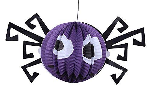 Set von 3 Halloween-Partei-Dekoration-hängenden Verzierung, Neue Spinne