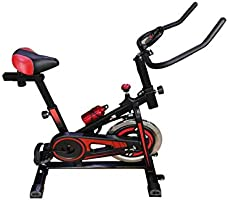 Skyland Unisex Adult EM-1556 Home Exercise Spinning Bike - Black, L=102 x W=48 x H=111 cm