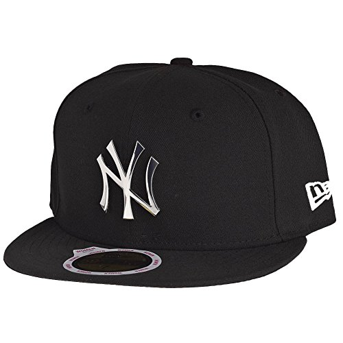 New Era Femme Casquettes / Fitted Fitted Badge NY Yankees Noir