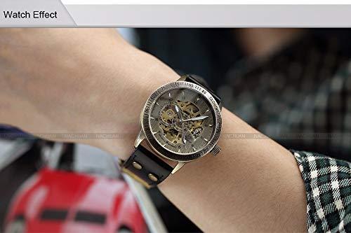 HWCOO Orologi meccanici Orologio meccanico automatico vuoto da uomo Shenhua / 9259 (Color : 1)