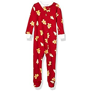 Amazon Essentials Baby and Toddler Zip-Front Footed Sleeper Unisex niños 6