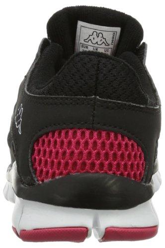 Kappa Fox, Baskets mode mixte adulte Noir - Schwarz (1122 BLACK/PINK)