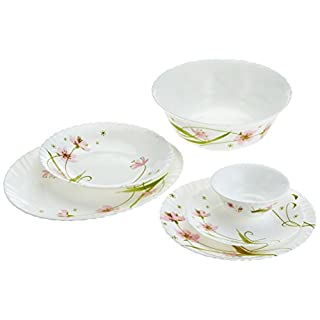 Dajar Selma Table Service Set of 26Arcopal, White, Pink, Green, 31.3x 16.1x 29,7cm–Units