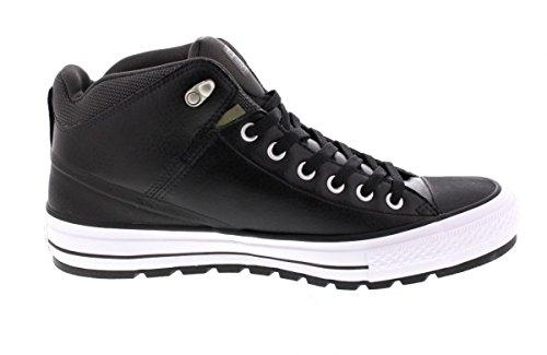 Converse black Leather Größe 42 Schwarz (schwarz)