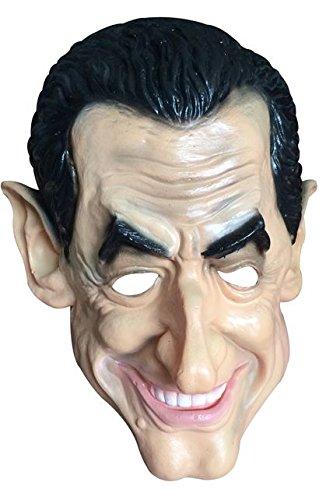 Générique - MA9905 - Masque Souple Sarkozy Pvc - Taille Unique