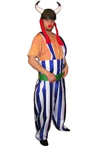 PUS Gallier- Kostüm-e TO08 Gr. XL, Kat. 3, Achtung: B-Ware Artikel, Bitte Artikelmerkmale lesen! Frau-en und Männer Helm-e Zöpf-e Fasnacht-s Fasching-s Karneval-s Geburtstag-s - Römischer Soldat Frau Kostüm