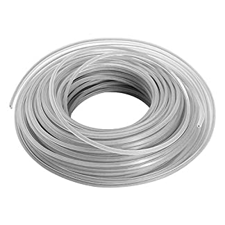 KKmoon Cable de alambre de acero inoxidable, cuerda de corte de 3 mm, hilo de nailon para cortabordes, desbrozadora, cortadora de bordes