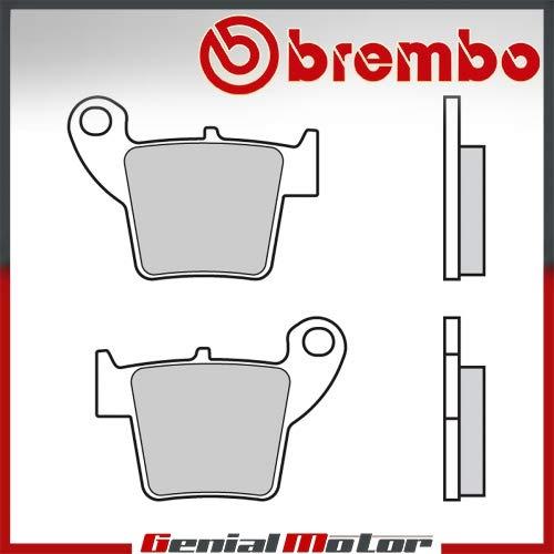 Pastiglie Brembo Freno Posteriori 07HO48.TT per CRM DERAPAGE 50 2009 > 2011
