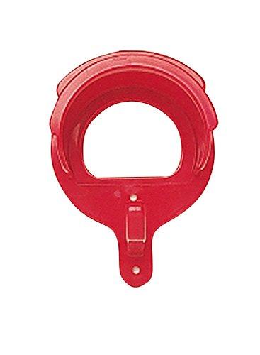 Busse Trensenhalter PVC-Deluxe, Standard, rot