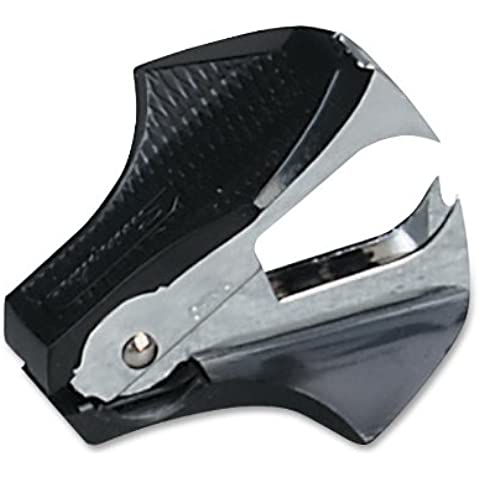 GBC - Deluxe Staple Remover, Extra Wide Holding Tabs, Black, Sold as 1 Each, SWI38101