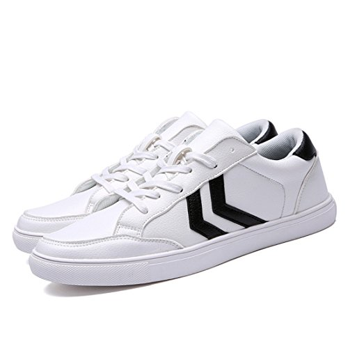 Men's Leather Flats Comfortable Teenagers Skateboarding Shoes 2311