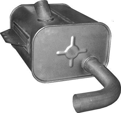 ETS-EXHAUST 8461 Schalldämpfer (für ATEGO 4.2 Rigid/Dump truck 122hp 1997-)