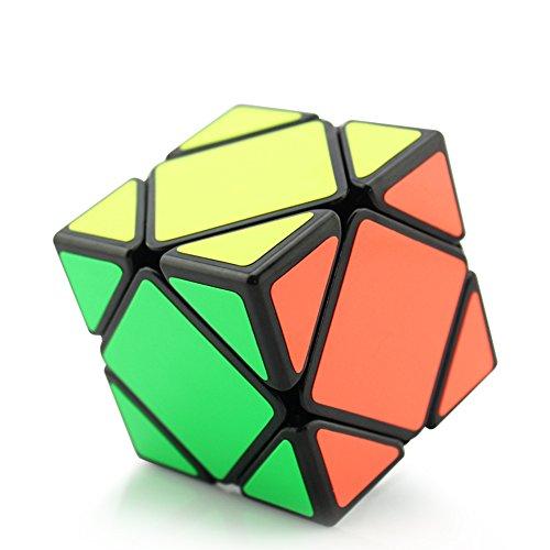 HJXDtech - Shengshou colección cubo mágico irregular Speedcubing Cubo Especial de la torcedura del rompecabezas (Skewb cube)
