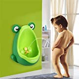 None Frog Children Toddler Kids Boy Baby Potty Toilet Training Urinal Pee Bathroom US