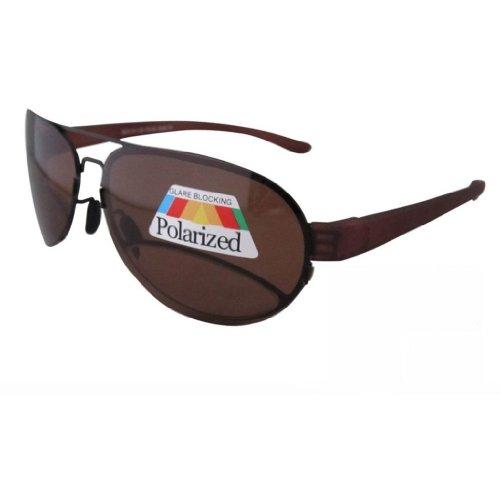 Eyekepper Unisex - Erwachsene Polarisierende Sonnenbrille mit Leseteil/Bifokal Braun