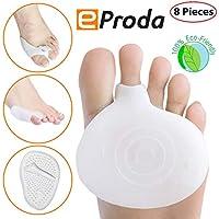 eProda Fußpolster für Mittelfußknochen, Zehentrenner und Ballenkissen, Gelpolster – Sofortige Schmerzlinderung... preisvergleich bei billige-tabletten.eu