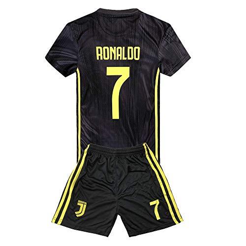 e22cf36c9 JRJ 2018-2019 Cristiano Ronaldo 7 T-Shirt CR7 Juventus Homme Maillot    Enfants