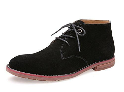 Mid High Slouch Boot (Minitoo ,  Herren Chukka Boots , schwarz - schwarz - Größe: 42.5)