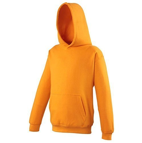 Neue AWDIS Kinder Kapuzenpullover Kangaroo Tasche Uni Kapuzen Sweatshirt Hoodie