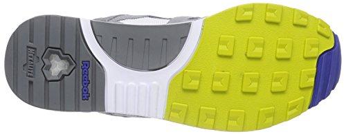 Reebok Ventilator Athletic, Chaussures de Running Homme Multicolore - Mehrfarbig (Snowy Grey/White/Flat Grey/Medium Grey)
