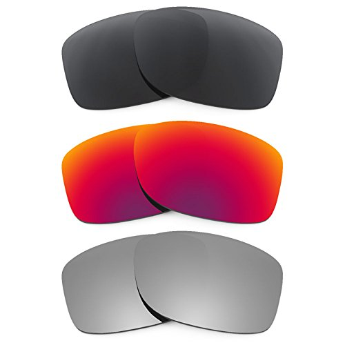 Revant Ersatzlinsen für Oakley Jupiter Squared Polarisiert 3 Paar Kombipack K017