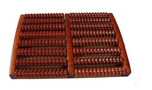 WG Acht Reihen massivholz Roller fußmassagegerät pediküre Maschine fußbürste Holz füße meridiane fußmassagegerät -
