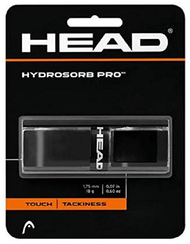 head-grip-per-racchetta-da-tennis-hydrosorb-pro-di-ricambio-nero