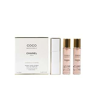 Chanel Coco Mademoiselle Eau de Parfum Twist and Spray 3 x ...