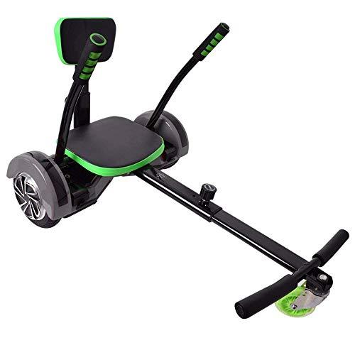 """Hoverseat Hoverboard Scooter Seat Sitz Zubehör Hoverkart Balance Boards schwarz verstellbar für 6,5\"""" 8\"""" 10\"""" geeignet"""