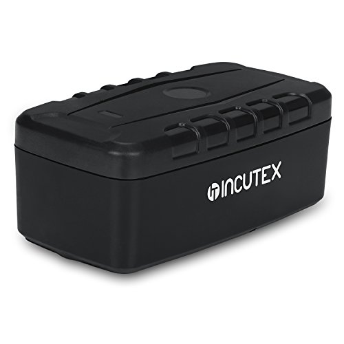 Incutex GPS Tracker TK106 Langzeittracker wasserdicht Magnethalterung Containertracker Version 2017 (Gps-container-tracker)