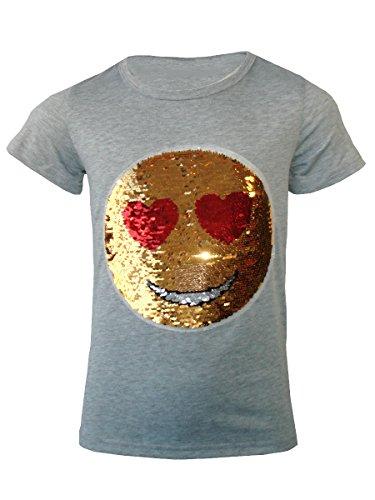kinder-emoji-emoticon-smiley-gesicht-t-shirt-t-stuck-top-burste-anderung-sequin-alter-3-14-jahre