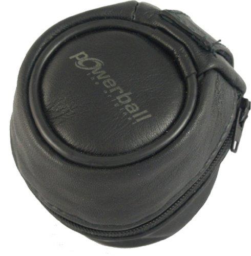 Kernpower Leder Tasche Für Powerball, schwarz, 047,