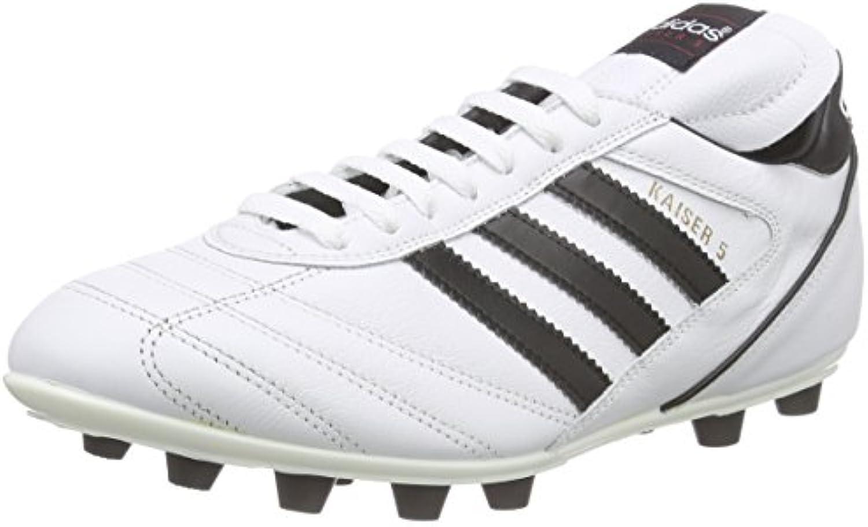 Adidas Kaiser 5 Liga - Botas para Hombre, Color Blanco/Negro -