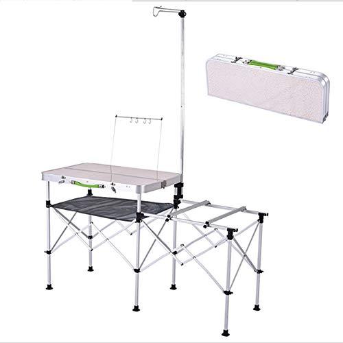 Rookly mobile kitchen tavolo da picnic all'aperto famiglia viaggio attrezzature da campeggio tavolo da picnic valigia portatile per barbecue da giardino
