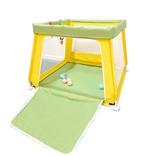 WJSW Baby Toys Kids Activity Center Box per Box per Bambini Babies -70cm Altezza di Sicurezza - Verde