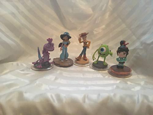 Disney Infinity 2.0 Figures - Jamine - Randy - Mike - Woody - Vanellope - Compatible (PS4/PS3/Xbox One/Xbox 360/Nintendo Wii U)