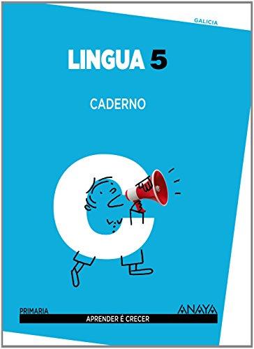Lingua 5. Caderno. (Aprender é crecer)