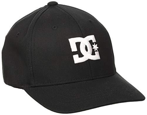 DC Shoes Jungen Cap Star - Casquette Flexfit Pour Garçon 8-16 ans Baseball, schwarz, one Size