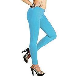 17Hills Women Light Weight Premium Viscose rayon Stretch Full Length LeggingsBurgundy Color