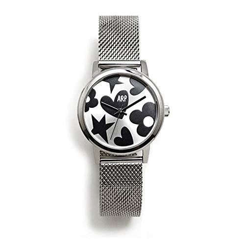 Agatha Ruiz de la Prada Armbanduhren Damen Analog Japanisches Quarzwerk Edelstahlband AGR248